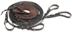 S-Grip Pairs Reins Black/Brown