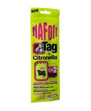 Naf Off Citronella Tags - Horse Fly Repellent Tags - Twin Pack
