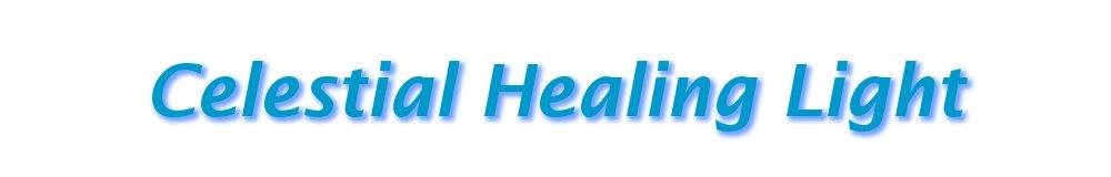 Celestial Healing Light, site logo.