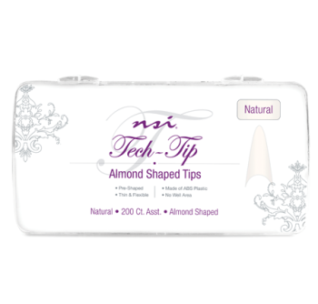 Almond Natural Tech Tips (Box of 200) FREE DELIVERY
