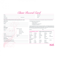 Nail Consultation Cards (Pack of 20)
