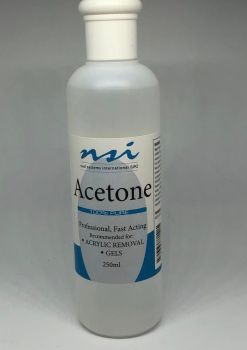 Soak off 100% Acetone 250ml FREE DELIVERY