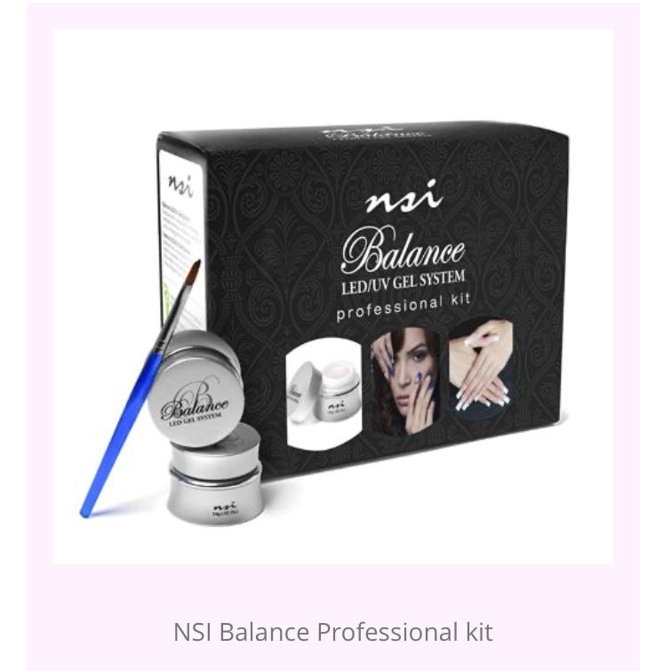NSI Balance Hard professional Gel Kit