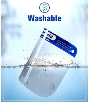 A Safety Visor - Washable - Anti-fog - Light weight