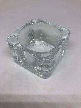 Glass dampen dish - for Acrylic powders