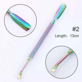 Rainbow Cuticle Pusher