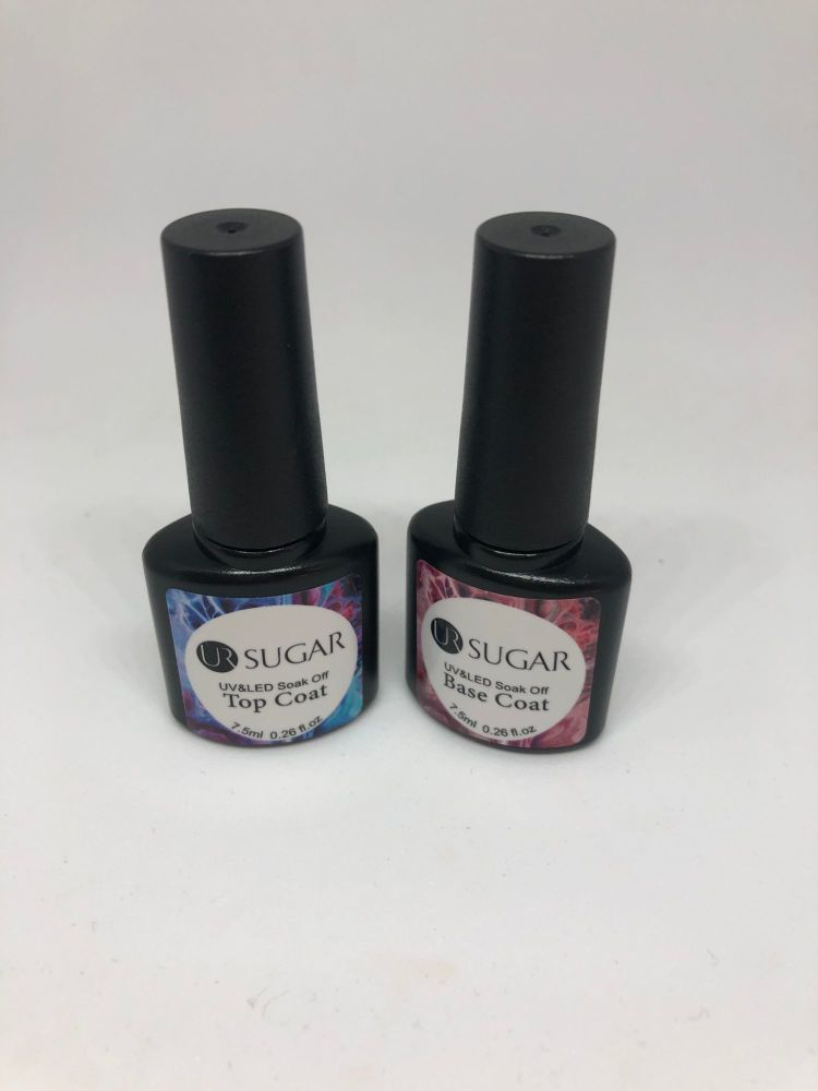 Base & Top Coat - Uv Gel polish SUGAR
