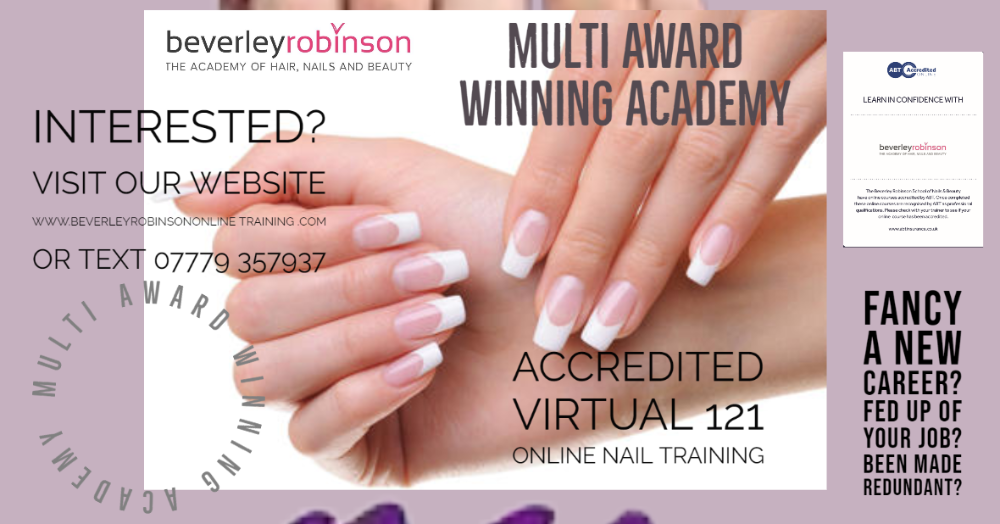 Nail Training ONLINE -Click here...