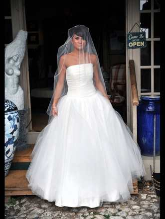 Pearl Bridal full tulle dress