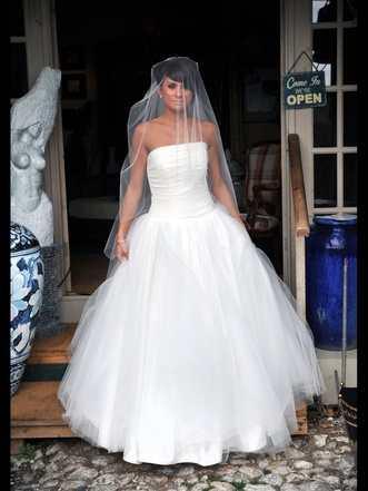 Pearl Bridal full tulle dress