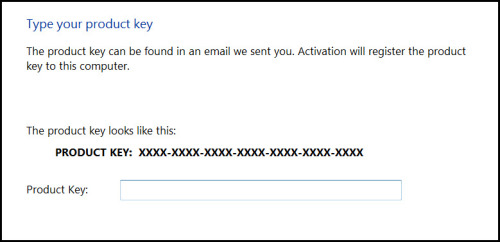 <!-- 012 -->Additional Product Key  activation (Software Code)