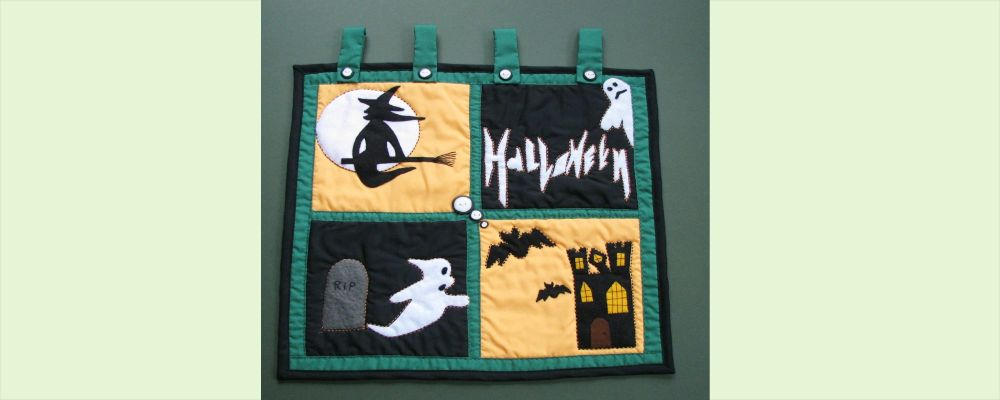 Homepage  Halloween Wallhanging