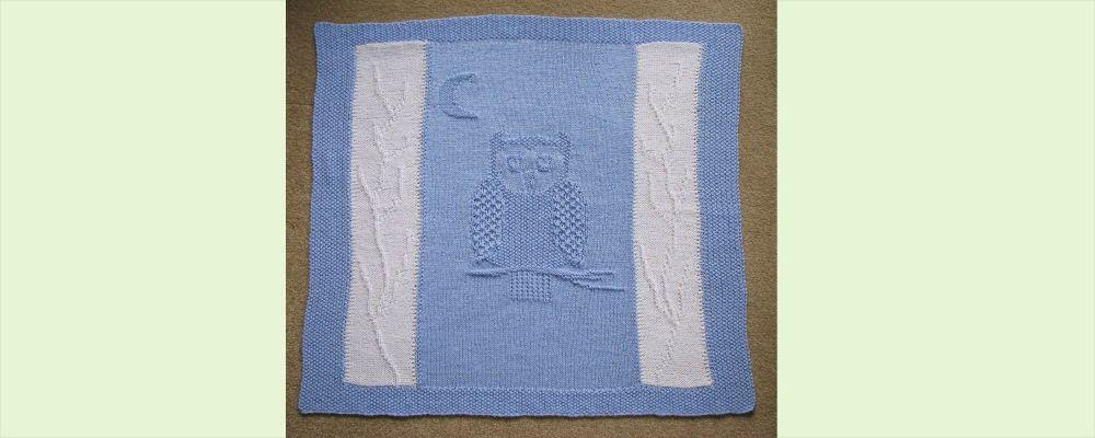 Homepage  Owl Cot Blanket