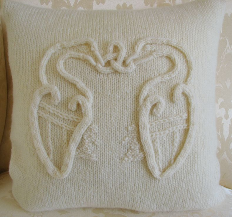 Pattern Collection - Celtic Cushion Cover - Celtic Birds