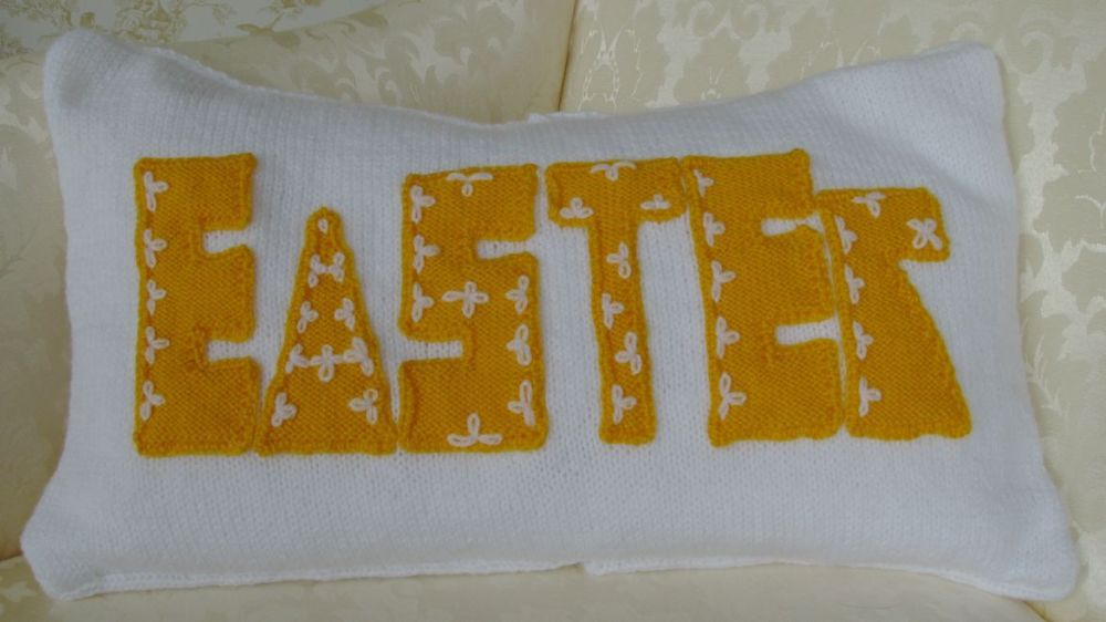 Pattern Collection - Seasonal Cushion Cover - Easter
