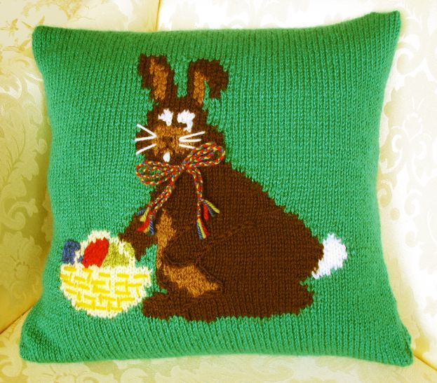 Pattern Collection - Seasonal Cushion Cover - Easter Bunny