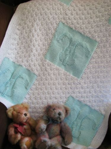 Pram/Cot Blanket Pattern - Bunny