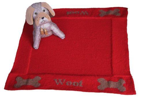 Pet Blanket Pattern - Woof