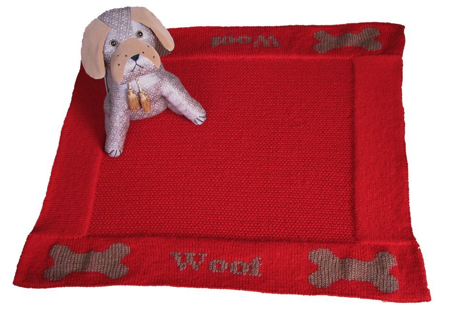 Pattern Collection - Pet Blanket - Woof