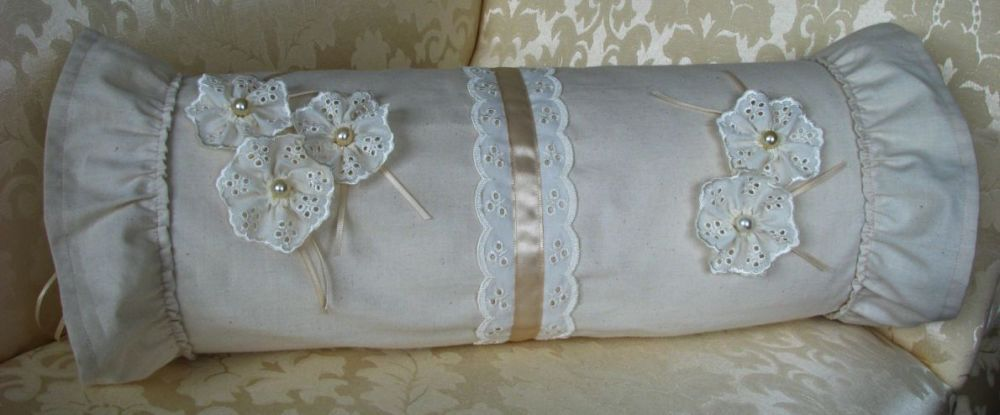 Pattern Collection - Calico & Lace Cushion Cover - Chloe