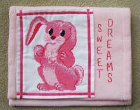 Pyjama Case Pattern - Bunny