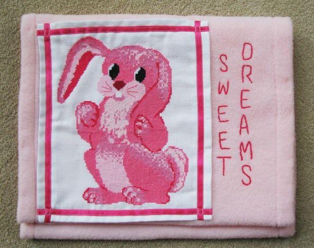 Pattern Collection - Nursery - Bunny Pyjama Case