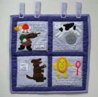 Nursery Wall Hanging Pattern - Hey Diddle Diddle