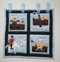 Nursery Wall Hanging Pattern - Humpty Dumpty