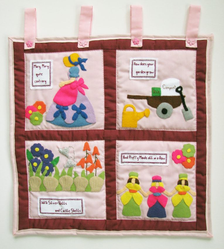 Pattern Collection - Nursery Wall Hanging - Mary Mary