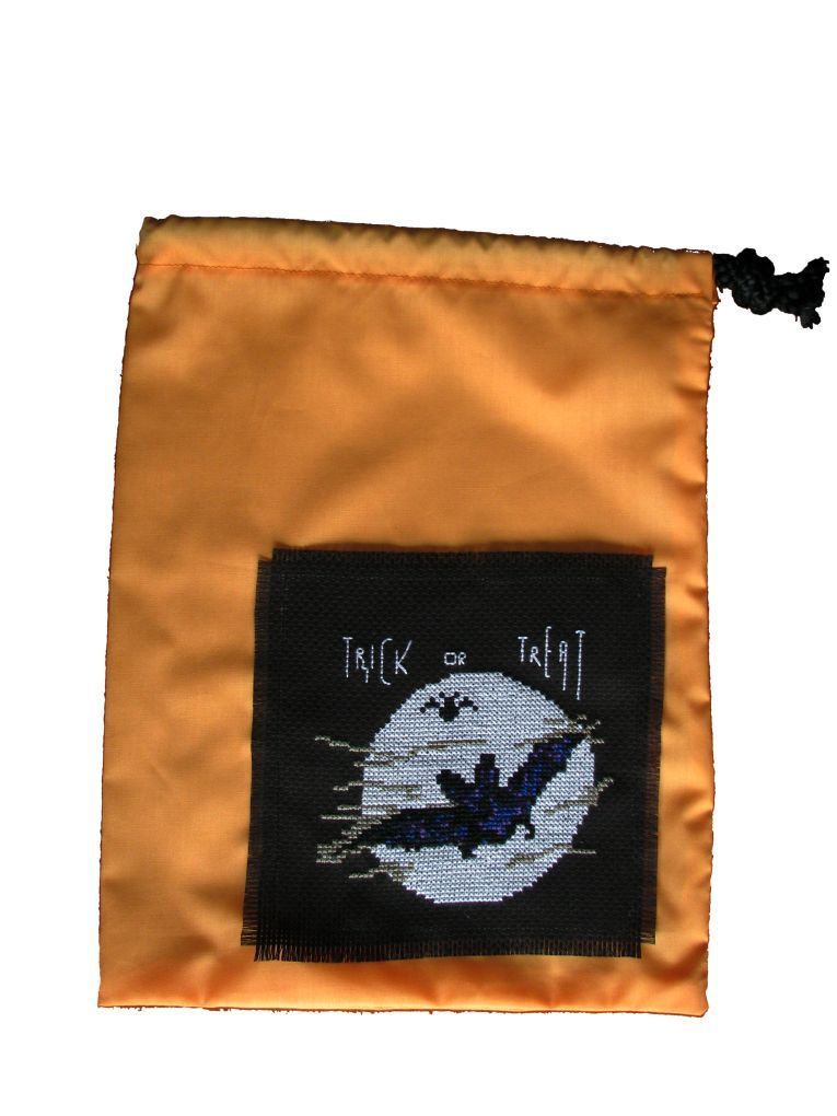Pattern Collection - Seasonal Halloween - Bat Trick or Treat Bag