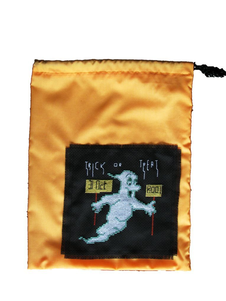 Pattern Collection - Seasonal Halloween - Ghost Trick or Treat Bag
