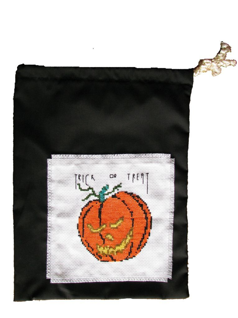 Halloween Pattern - Pumpkin Trick or Treat Bag