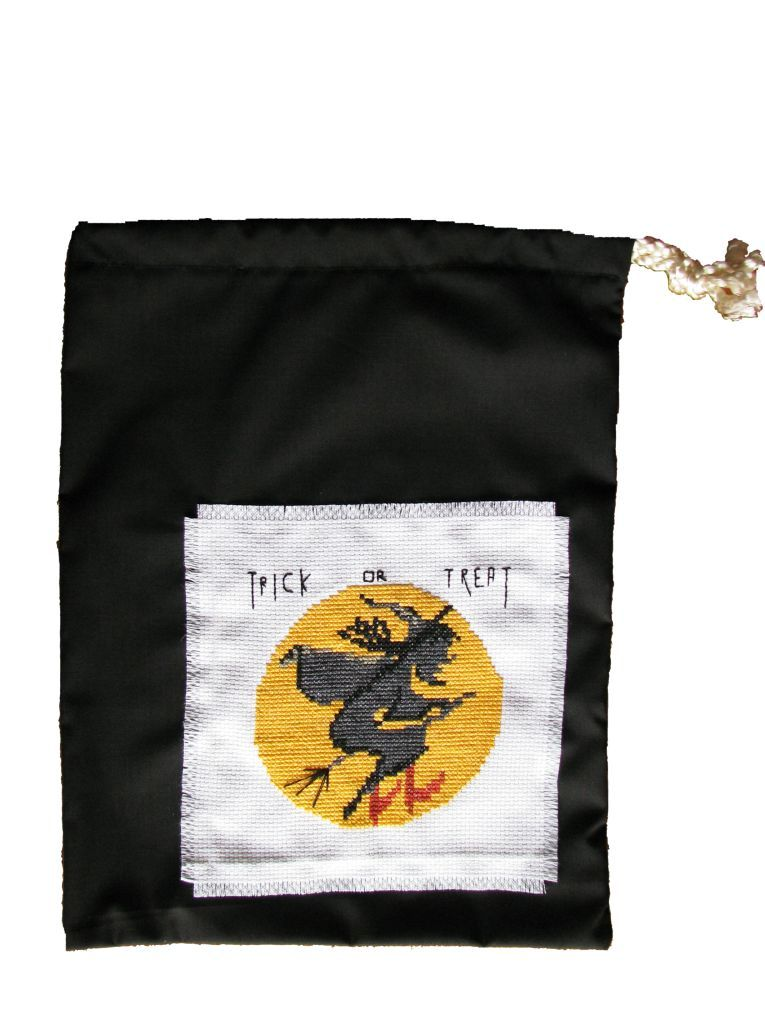 Pattern Collection - Seasonal Halloween - Witch Trick or Treat Bag