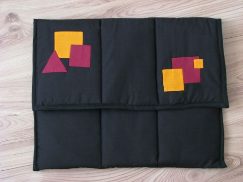Geometric Laptop Cover Pattern