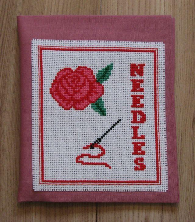 Rose Needlecase