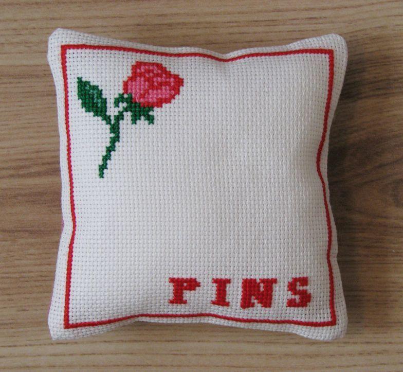 Rose Pincushion