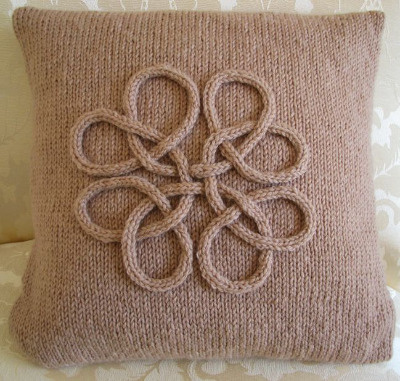 Celtic Knot Cushion Cover
