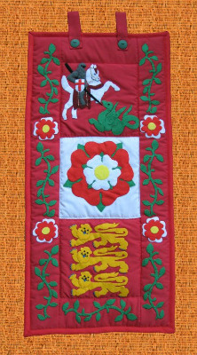 Quilted Wall Hanging - England
