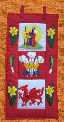 Quilted Wall Hanging - Wales