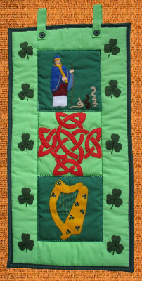 Quilted Wall Hanging - Ireland
