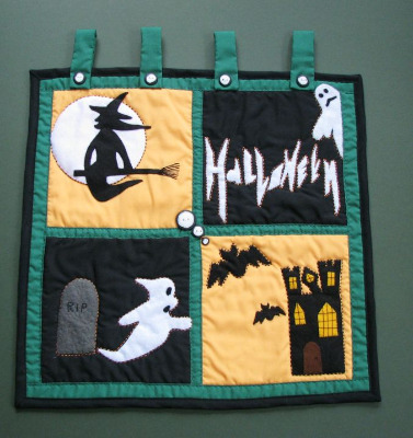 Quilted Wall Hanging - Halloween
