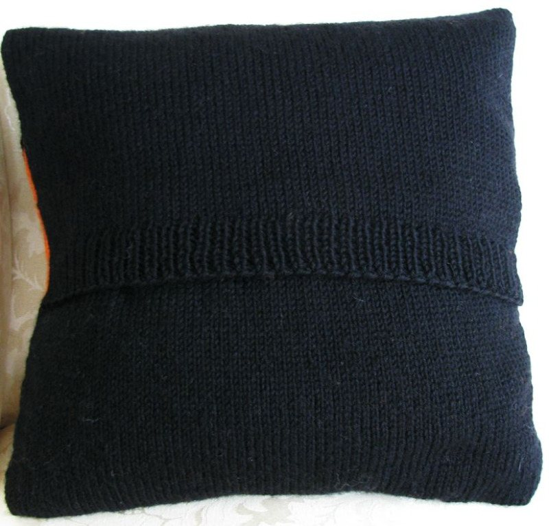 Art Deco Ray Bands Cushion Back
