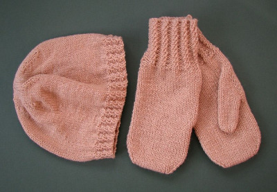 Hat & Mitts Set