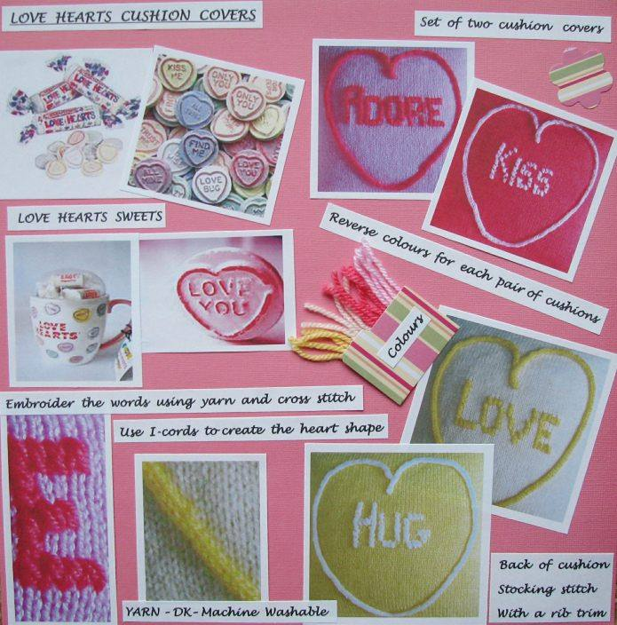 Blog love hearts cushion covers