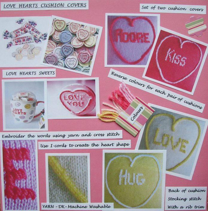 Blog love hearts cushion covers