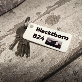 Personalised Plastic Keyring