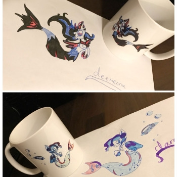 Your Own Drawing on a Mug