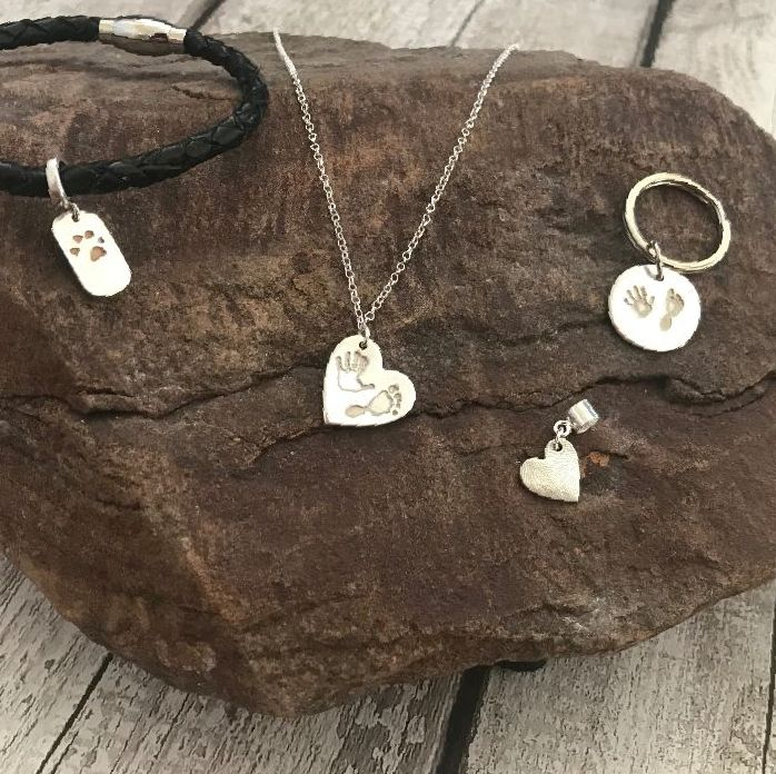 Hand, foot, paw & finger print Jewellery