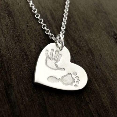 DOUBLE PRINT standard size necklace