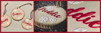 Personalised Wooden Name Decoration